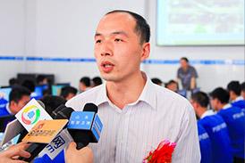 汽修行业专家赵林来校讲座